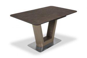Стол SPAIN 140 LATTE  CER - Импортёр мебели «AERO (Италия, Малайзия, Китай)»