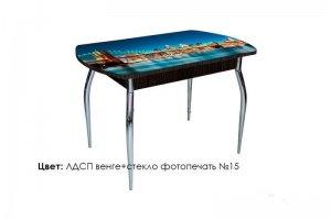 Стол стеклянный Asti-Foto раскладной - Мебельная фабрика «Калина»