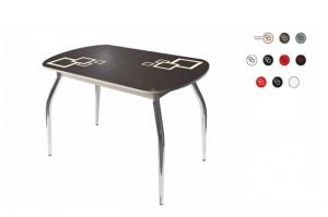 Стол стеклянный двуцветный - Мебельная фабрика «АверсПлюс»
