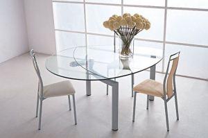 Стол стеклянный овальный - Мебельная фабрика «Эсси»
