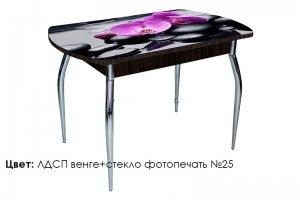 Стол стеклянный с фотопечатью Asti-Foto - Мебельная фабрика «Калина»
