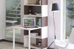 Стол-стеллаж СБ-10М6 - Мебельная фабрика «МЭРДЭС»