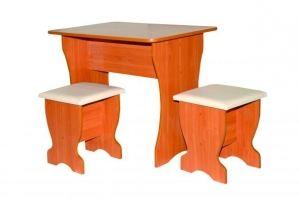 Стол обеденный +табуреты - Мебельная фабрика «Статус-7»