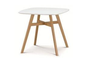 Стол TAGETES 80 белый - Импортёр мебели «М-Сити (Малайзия)»