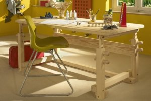 Стол трансформер детский Сиэтл - Мебельная фабрика «Дубрава»