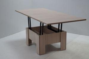 Стол трансформер с механизмом скрытого действия - Мебельная фабрика «Астера»