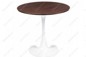 Стол Tulip Nut белый 1565 - Импортёр мебели «Woodville»