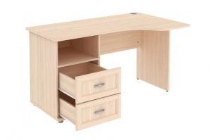 Стол угловой с тумбой и ящиками Г776 04 - Мебельная фабрика «Уют сервис»