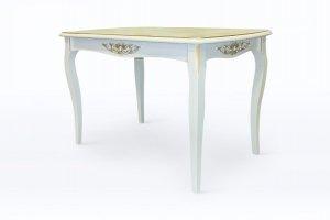 стол Венеция - М с декором 265 - Мебельная фабрика «Верона»