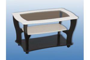 Стол журнальный 3 со стеклом - Мебельная фабрика «Керулен»