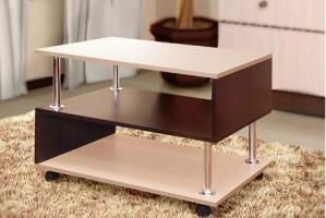 Стол журнальный двухцветный - Мебельная фабрика «Святогор Мебель»