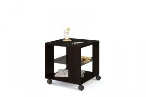 Стол журнальный Эдем-02 со стеклом  - Мебельная фабрика «Бум-Мебель»