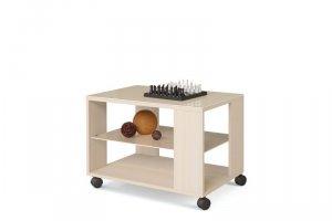 Стол журнальный Эдем-03 со стеклом  - Мебельная фабрика «Бум-Мебель»