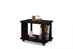 Стол журнальный Эдем-04 со стеклом  - Мебельная фабрика «Бум-Мебель»