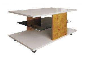 Стол журнальный глянец Bergamo 2 - Мебельная фабрика «Квадро-М»