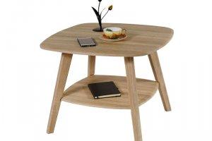 Стол журнальный Хадсон дуб белёный/сонома - Мебельная фабрика «Мебелик»