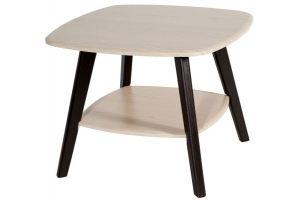 Стол журнальный Хадсон дуб белёный/венге - Мебельная фабрика «Мебелик»