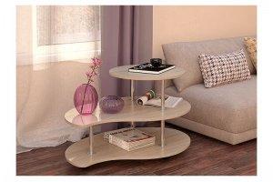 Стол журнальный  Капля 2 - Мебельная фабрика «Вик»