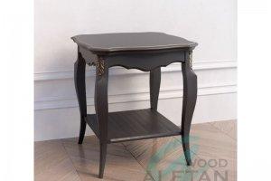 Стол журнальный квадратный 101BL - Мебельная фабрика «ALETAN wood»
