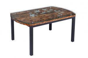Стол журнальный Лофт пескоструй - Мебельная фабрика «7 цветов»