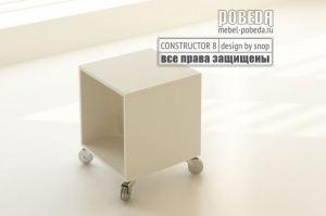 Стол журнальный на колесиках - Мебельная фабрика «Победа»