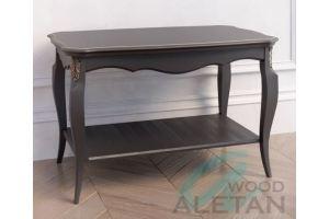 Стол журнальный прямоугольный артикул 102BL - Мебельная фабрика «ALETAN wood»