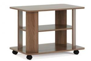 Стол журнальный прямоугольный на колесах - Мебельная фабрика «КБ-Мебель»