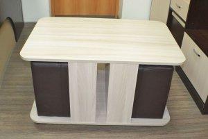 Стол журнальный с пуфиками - Мебельная фабрика «Миссия»