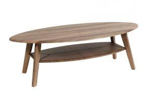 Стол журнальный Серфинг грецкий орех/акация - Мебельная фабрика «Мебелик»