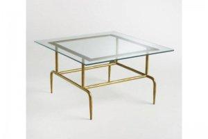 Стол журнальный со стеклом 2 - Мебельная фабрика «Loft Zona»