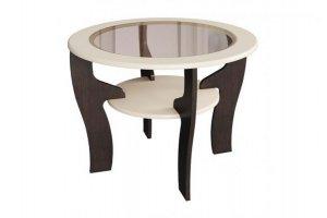 Стол журнальный со стеклом - Мебельная фабрика «МИГ»