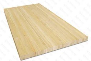 Столешница деревянная прямоугольная ЭКСТРА - Оптовый поставщик комплектующих «БРУС-ОК»