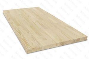 Столешница деревянная прямоугольная АА - Оптовый поставщик комплектующих «БРУС-ОК»