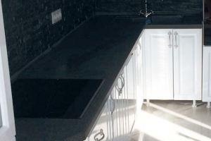 Столешница из искусственного камня Обсидиан - Оптовый поставщик комплектующих «Каммета»