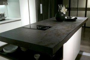 Столешница из керамики Oxide_nero_gai - Оптовый поставщик комплектующих «Мега-Мрамор»