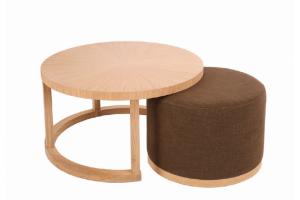 Столик Джордж пуфик - Мебельная фабрика «BURJUA»
