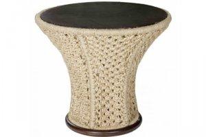 Столик плетеный сизалевый Флора - Мебельная фабрика «Леда»