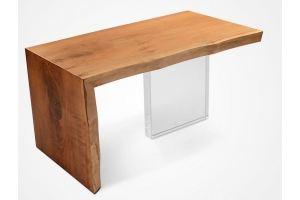 Столик журнальный слэб и стекло - Мебельная фабрика «Loft Z»