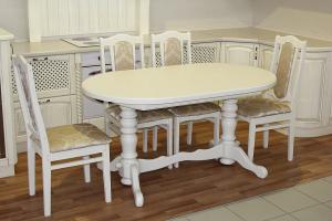 Столовая группа стол и стулья из бука - Мебельная фабрика «Михельсон и К»