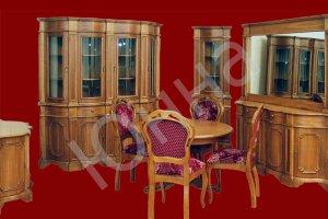Столовый гарнитур с обеденной зоной - Мебельная фабрика «ЮННА»