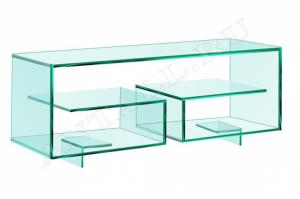 Стойка стеклянная Cristall-09 - Мебельная фабрика «Antall»