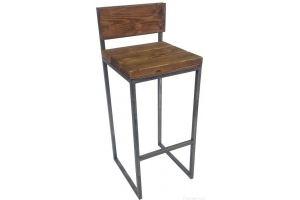 Стул барный со спинкой - Мебельная фабрика «Новый Полигон»