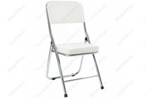 Стул Chair раскладной белый 11072 - Импортёр мебели «Woodville»