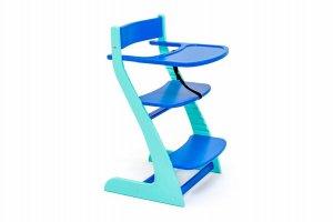 Стул детский растущий Усура мятно-синий - Мебельная фабрика «Бельмарко»
