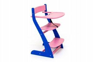 Стул детский растущий Усура синий-лаванда - Мебельная фабрика «Бельмарко»