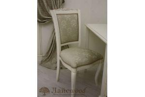Стул из дерева с мягким сиденьем - Мебельная фабрика «Лайс Wood»
