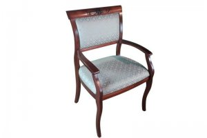 Стул с мягкой спинкой и подлокотниками - Мебельная фабрика «Верона»