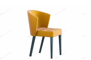 Стул Siena-F с мягким сиденьем и гнутой мягкой спинкой - Мебельная фабрика «Лидер»