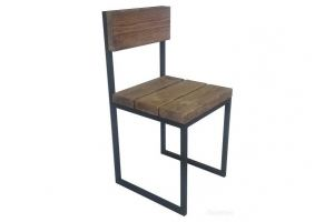 Стул со спинкой орех муар - Мебельная фабрика «Новый Полигон»