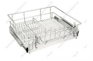 Сушка для посуды выкатная 600 мм (564x440х170) - Оптовый поставщик комплектующих «Модерн-Стиль А»